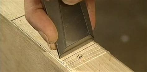 How To Cut A Mortise In A Door Jam