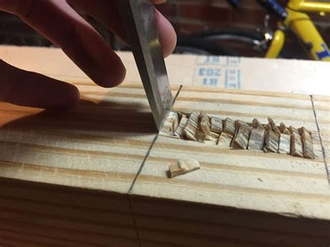 How To Cut A Mortise With A Chisel