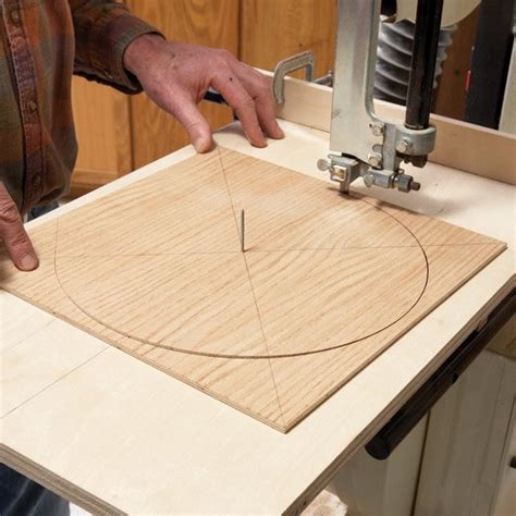 How To Cut A Recessed Circle In Wood