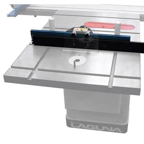 How To Cut A Router Table Insert For Laguna