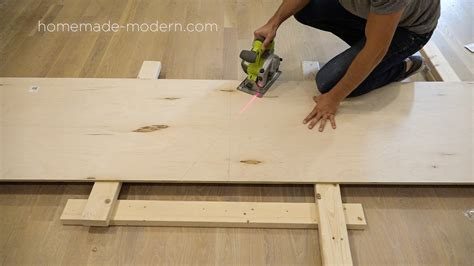 How To Cut A Spiral In Plywood