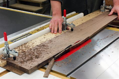 How To Cut A Straight Edge On Rough Cut Lumber