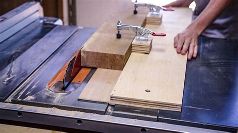 How To Cut A Straight Edge With A Table Saw