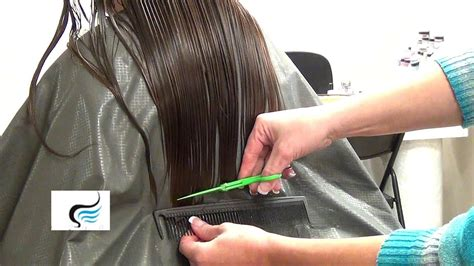 How To Cut A Straight Line In Hair