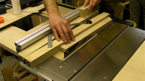 How To Cut A Taper On A Table Saw Video