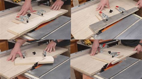 How To Cut A Taper On A Table Saw Video Tips