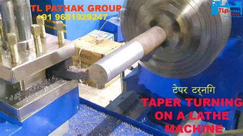 How To Cut A Taper With Lathe