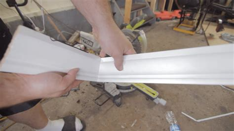 How To Cut An Inside Corner Crown Molding