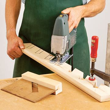 How To Cut Angled Notches In Wood