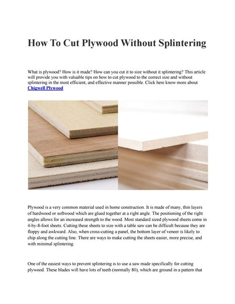 How To Cut Bamboo Without Splintering Hardwood