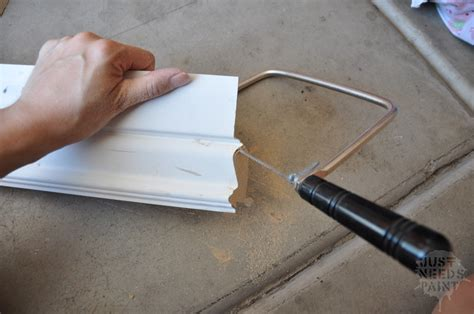 How To Cut Baseboard Angles With A Coping Saw