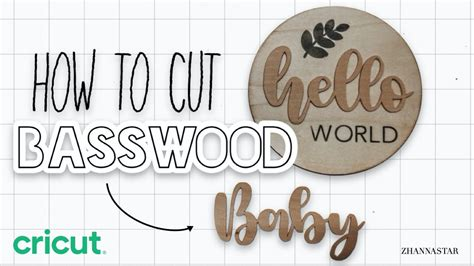 How To Cut Basswood Using The Cricut Maker