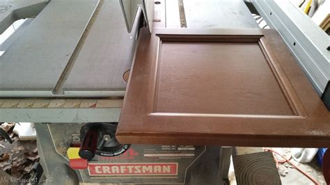 How To Cut Cabinet Doors On Table Saw