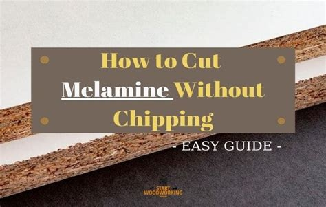 How To Cut Chipboard Without Chipping Wedge