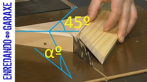 How To Cut Compound Angles On Tray