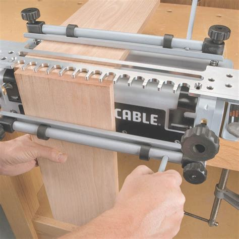 How To Cut Dovetail Joints With Porter Cable Jig