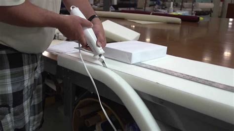 How To Cut Foam For A Cushion Out Of Place
