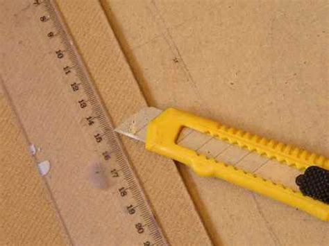 How To Cut Hardboard With Knife