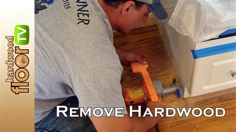 How To Cut Hardwood Floor From Under Cabinets