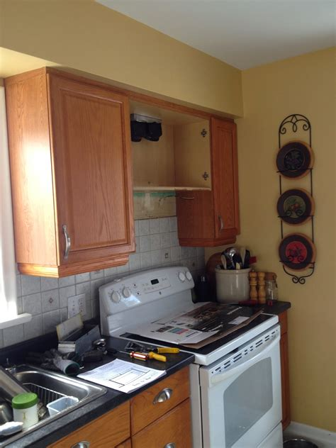 How To Cut Kitchen Cabinet For Stove
