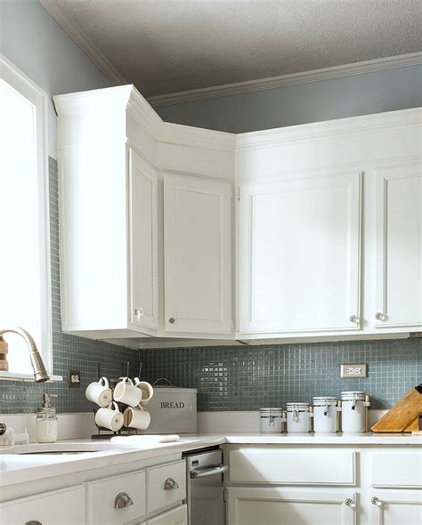 How To Cut Kitchen Cabinets Crown Molding