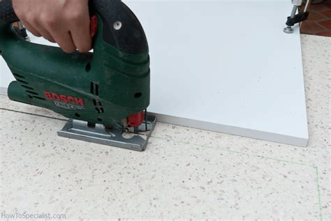 How To Cut Laminate Countertop With Jigsaw