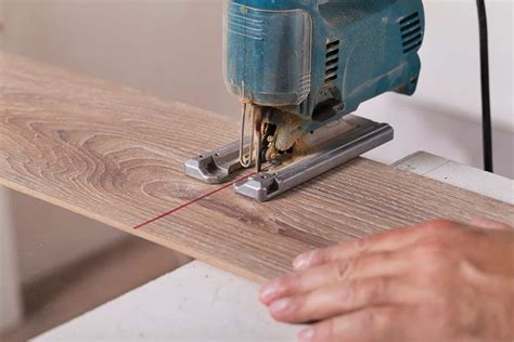 How To Cut Laminate Flooring With A Jigsaw Piece