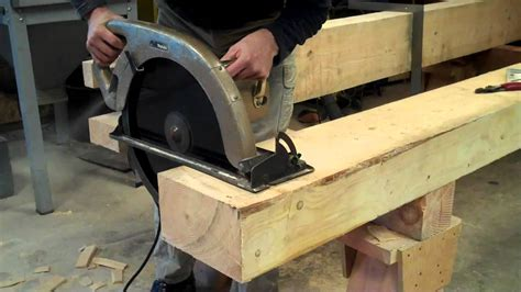 How To Cut Large Timbers
