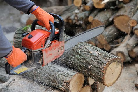 How To Cut Logs Chainsaw