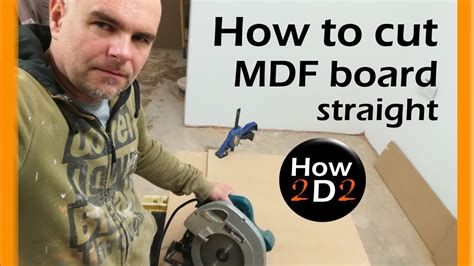 How To Cut Mdf With Circular Saw