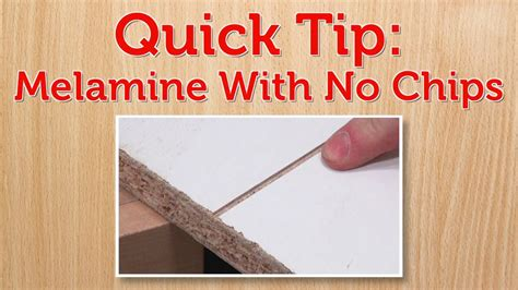 How To Cut Melamine Board