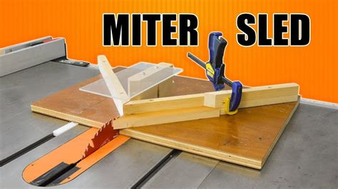 How To Cut Miter On Table Saw