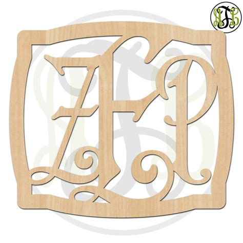 How To Cut Monogram Letters Out Of Wood