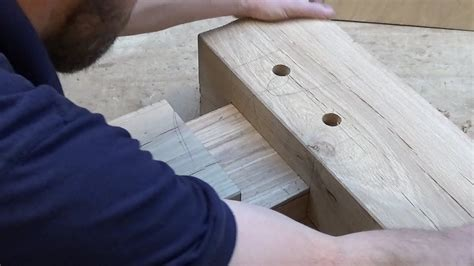 How To Cut Mortise And Tenon For Timber Beams