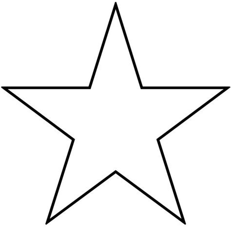 How To Cut Out A Star Pattern