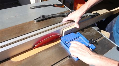 How To Cut Picture Frame Molding On A Table Saw