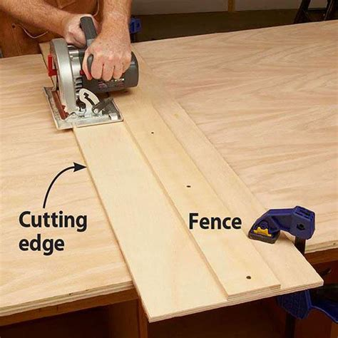How To Cut Plywood Straight