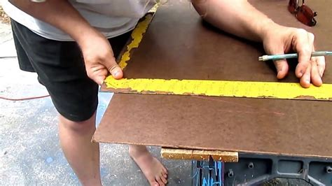 How To Cut Tempered Hardboard Panels