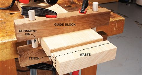 How To Cut Tenons On Long Boards