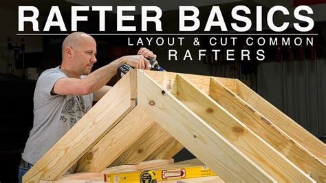 How To Cut Timber Rafters