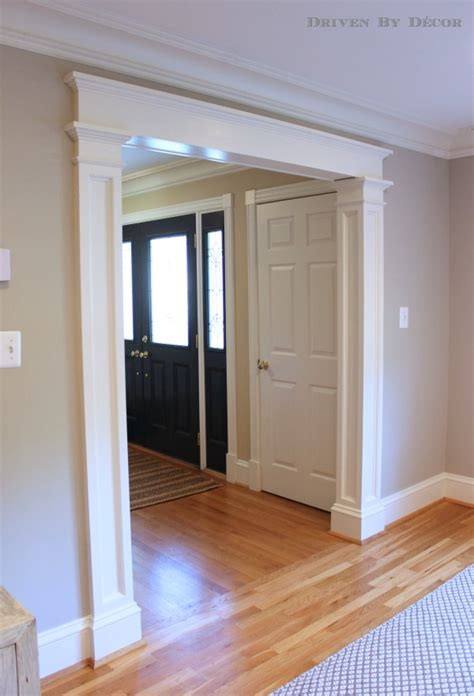 How To Cut Trim Around Doors One Side Is Small