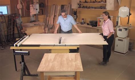 How To Cut Veneer Plywood On A Table Saw