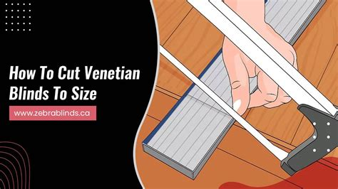 How To Cut Venetian Blinds To Size Video Converter