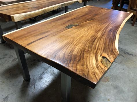 How To Cut Wood Slab For Table Top