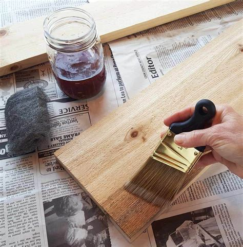 How To DIY Aging Wood
