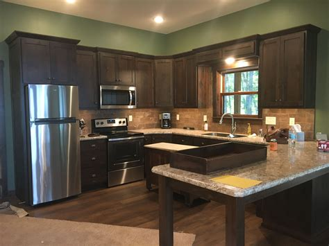 How To Darken Stained Cabinets