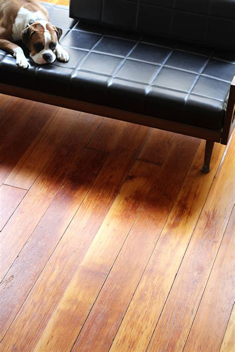 How To Darken Wood Floors With Tea