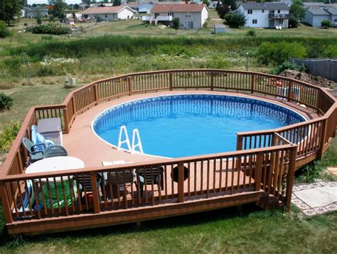 How To Design A Deck For Above Ground Pool