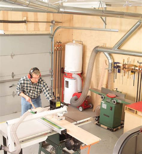 How To Design A Woodshop Dust Collection System