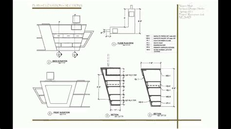 How To Design Furniture In Autocad
